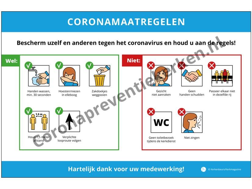 Bord Coronamaatregelen
