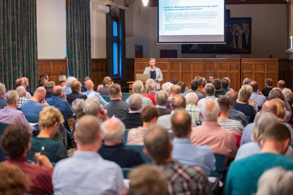 Seminar in 2018 van Helderblauw over AVG - Copyright Helderblauw bv